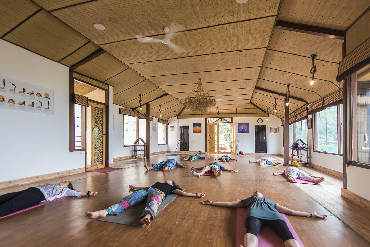 Veda5 Ayurveda Yoga Luxury Destination Retreat Rishikesh Himalayas India International