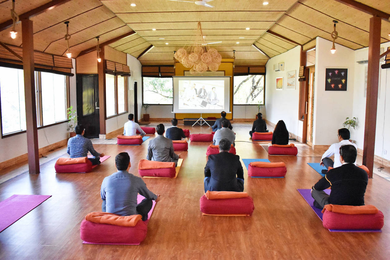 Corporate Retreat - Veda5 Wellness - Ayurveda Yoga - Rishikesh India