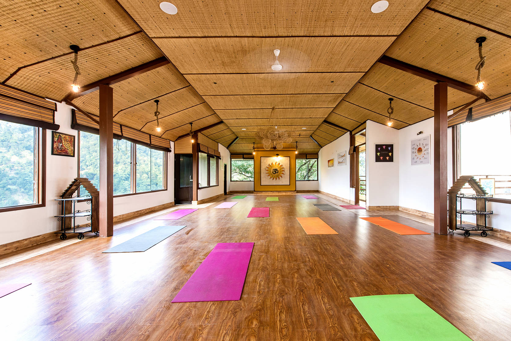 Best Facility for Yoga Class in Rishikesh is at Veda5 Ayurveda and Yoga Luxury World-Class Retreat in the Himalayas in Rishikesh India