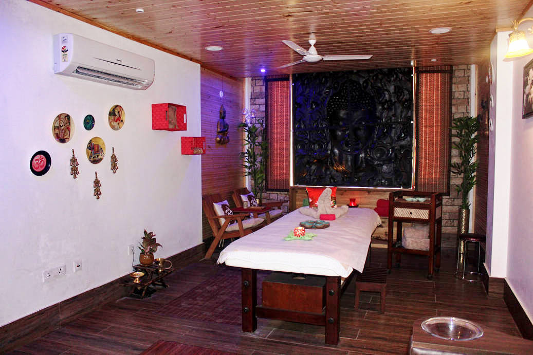 Veda5 Wellness in Rishikesh Himalayas India - Organic Spa