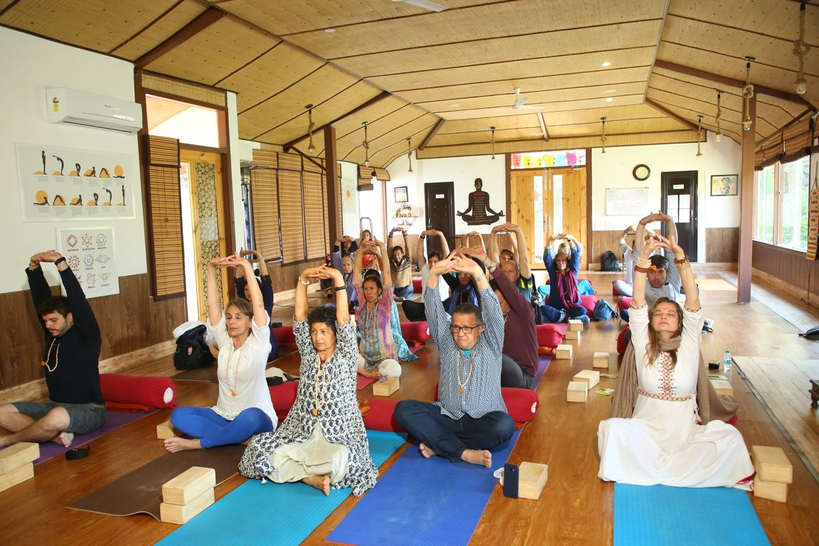 International Yoga Festival Rishikesh - Yoga at Veda5 Luxury Ayurveda and Yoga Wellness Retreat Rishikesh Himalayas India
