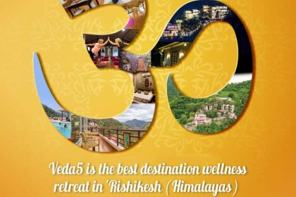 Om at Veda5 Luxury Ayurveda Yoga Retreat Rishikesh India