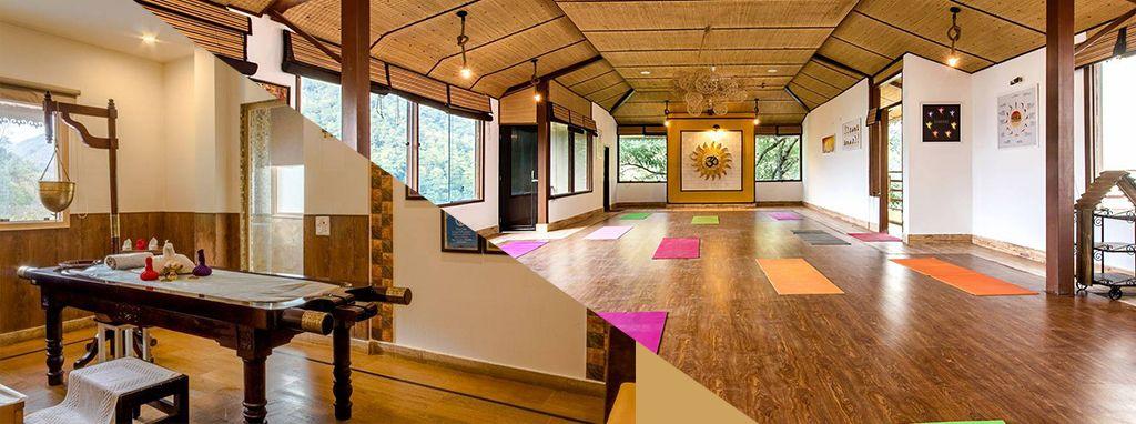 Veda5 is the Best Ayurveda Yoga Wellness Retreat Hotel in Rishikesh India