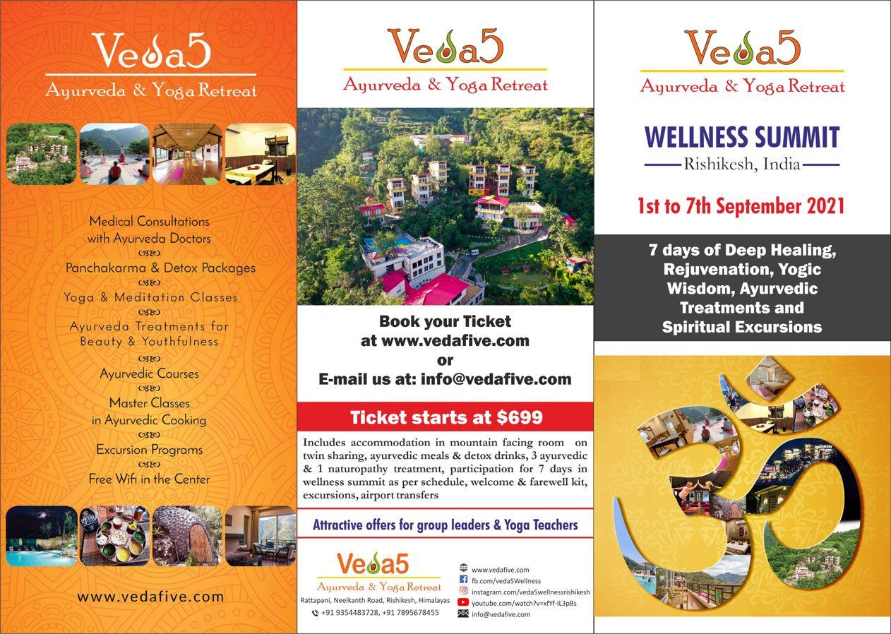 Rishikesh: Ayurveda, Naturopathy, Yoga & Spiritual Excursions - Wellness Summit 2021 - Best Retreat in India