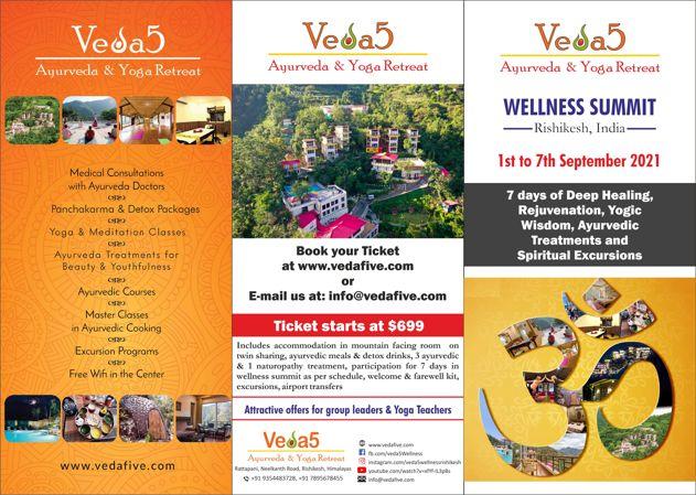 Rishikesh Wellness Summit 2021 - Best Retreat in India - Ayurveda Naturopathy Yoga Spiritual Excursions