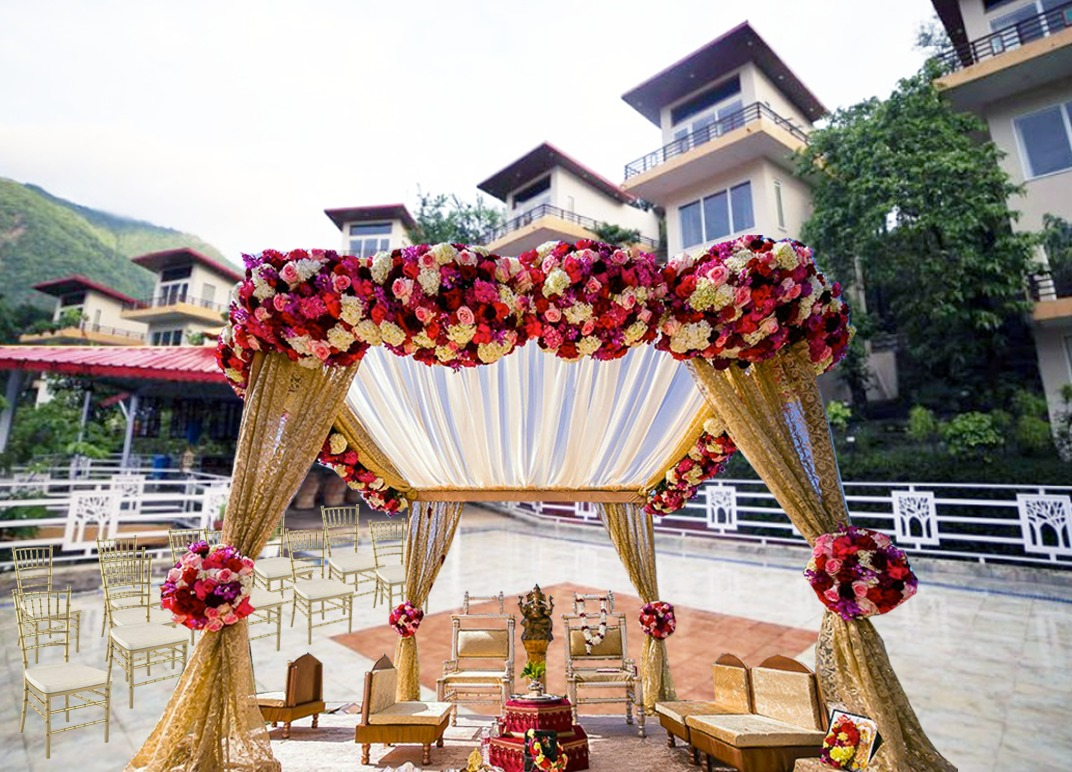 Luxury Holistic Wedding Destination in India on the Himalayan Foothills in Rishikesh Veda5