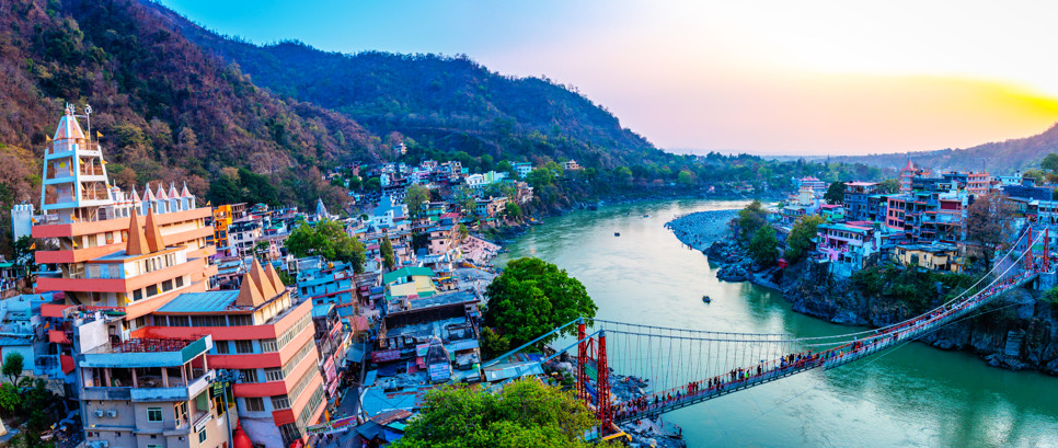 Best Rishikesh Day Tour of Temples Attractions Nature Sightseeing with Ayurveda Treatment Yoga Session Dining at Veda5 Luxury Retreat Rishikesh