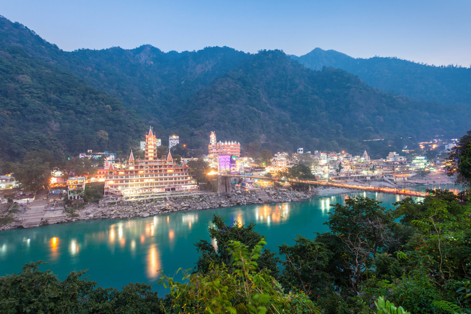 Best Rishikesh Sightseeing Package of Temples Attractions Nature with Ayurveda Treatment Yoga Session Dining by Veda5 Luxury Retreat Rishikesh