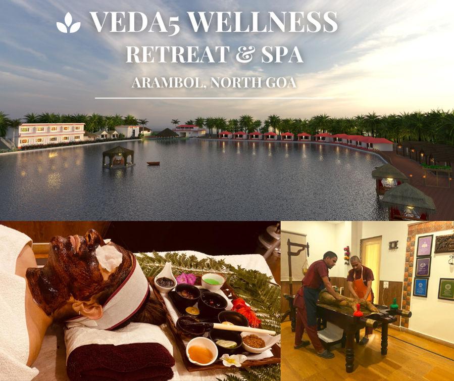 Arambol, North Goa - Veda5 Wellness Retreat and Spa, India