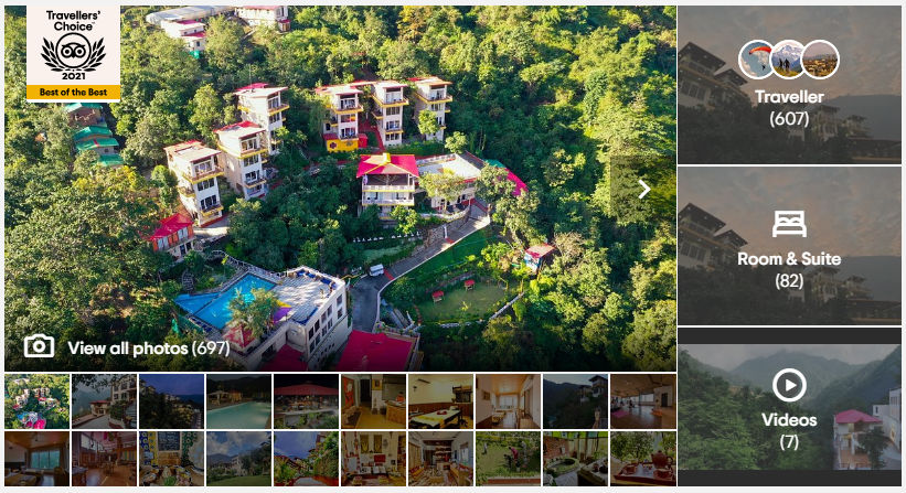 Veda5 Luxury Retreat, Resort & Hotel is Tripadvisor Best of the Best in India